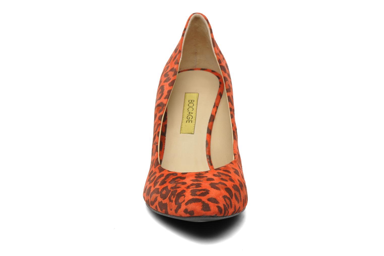 Escarpins Bocage Amano Léo Rouge vue portées chaussures
