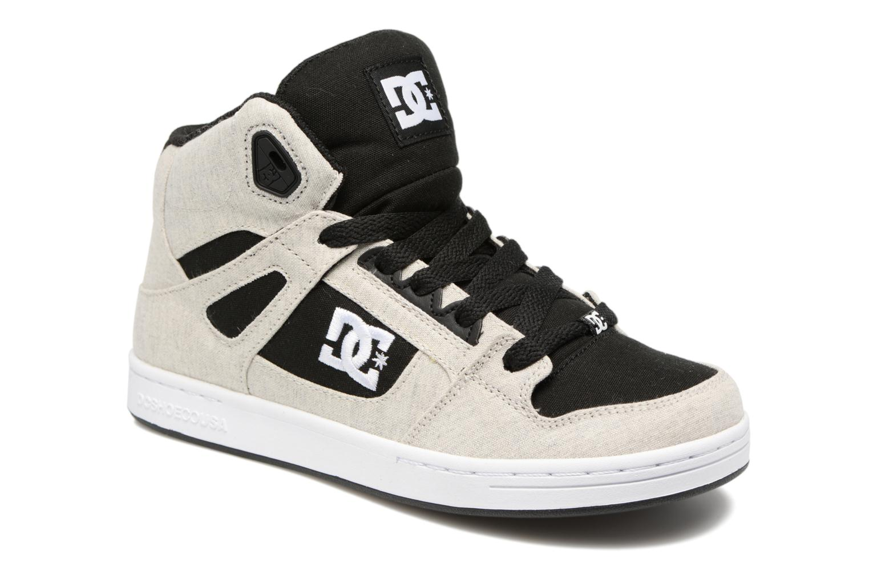 Baskets DC Shoes REBOUND B Gris vue détail/paire