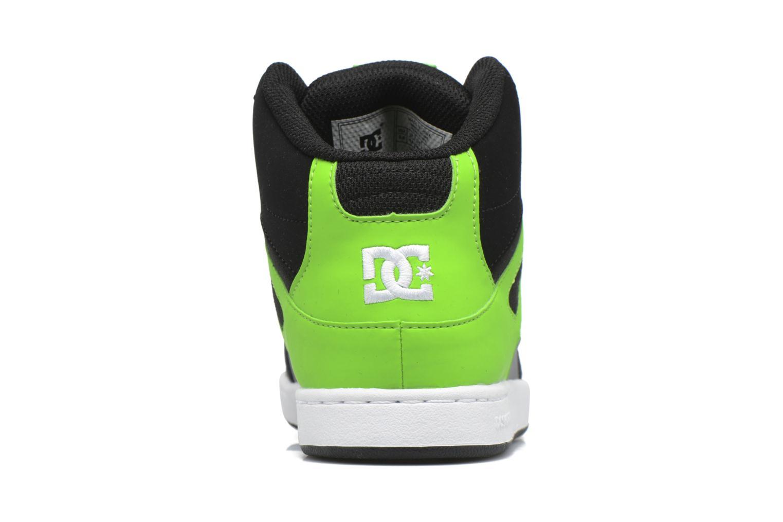 Baskets DC Shoes REBOUND B Vert vue droite