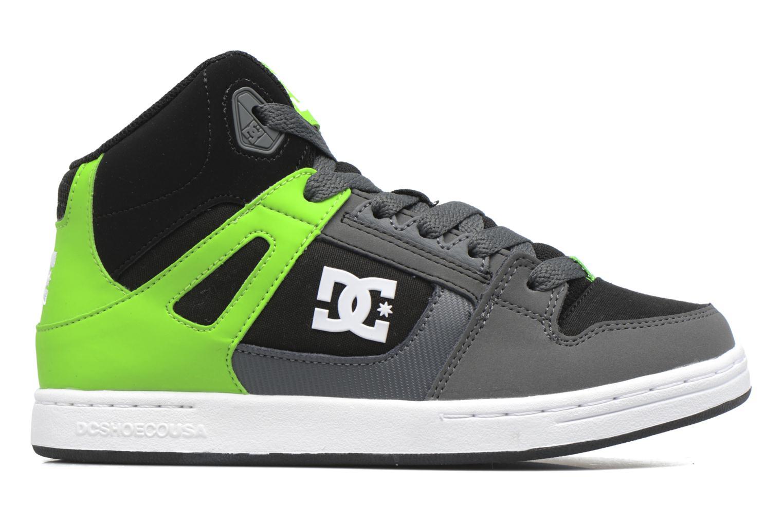 Baskets DC Shoes REBOUND B Vert vue derrière