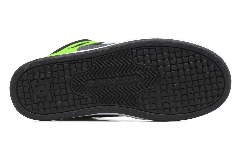 Baskets DC Shoes REBOUND B Vert vue haut