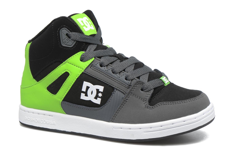 Baskets DC Shoes REBOUND B Vert vue détail/paire