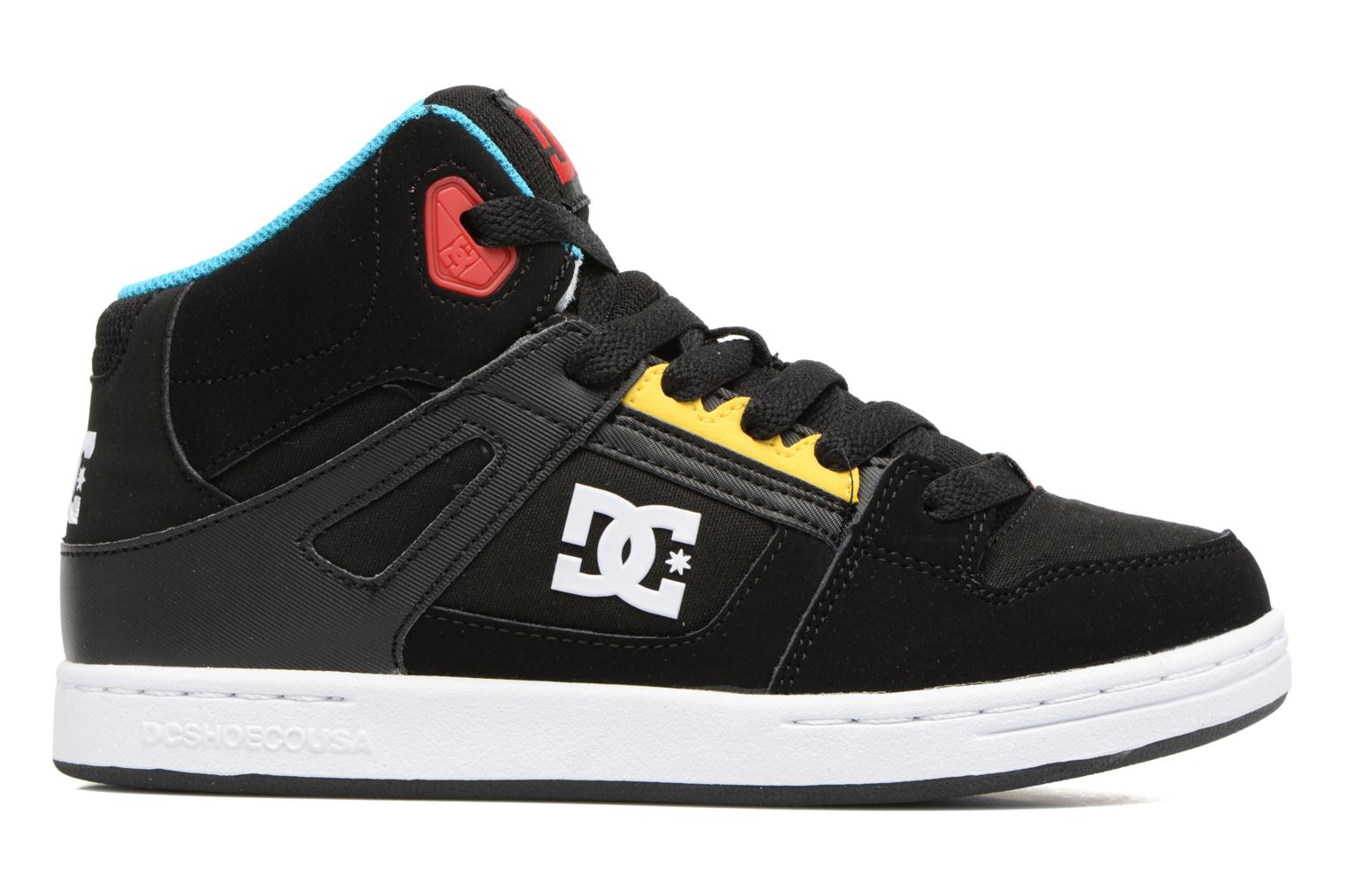 Trainers DC Shoes REBOUND B Black back view