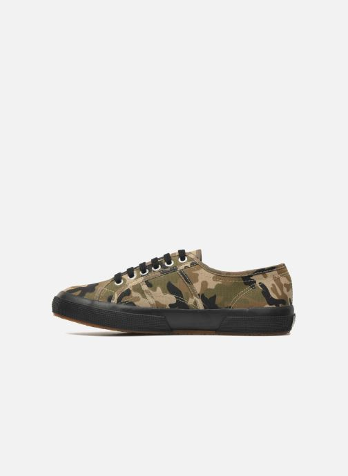 Baskets Superga 2750 Cotu Camou Multicolore vue face