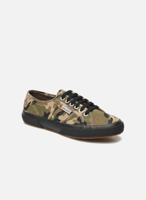Trainers Superga 2750 Cotu Camou Multicolor detailed view/ Pair view