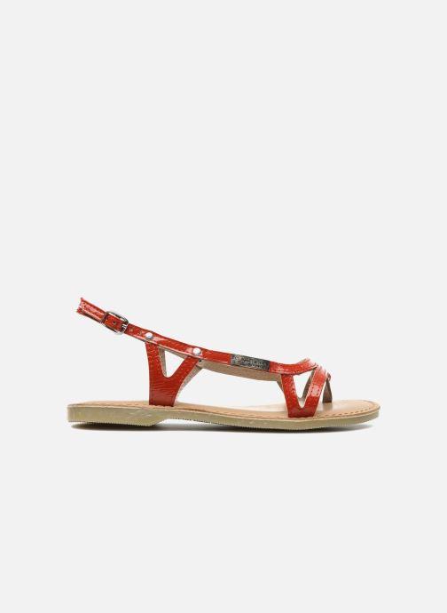 Sandales et nu-pieds Les Tropéziennes par M Belarbi ISATIS E Rouge vue derrière