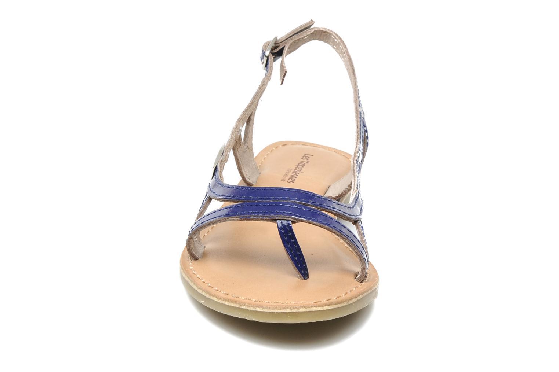 Sandals Les Tropéziennes par M Belarbi ISATIS E Blue model view