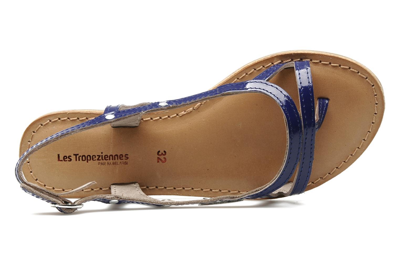 Sandals Les Tropéziennes par M Belarbi ISATIS E Blue view from the left