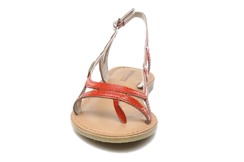Sandalen Les Tropéziennes par M Belarbi ISATIS E rot schuhe getragen