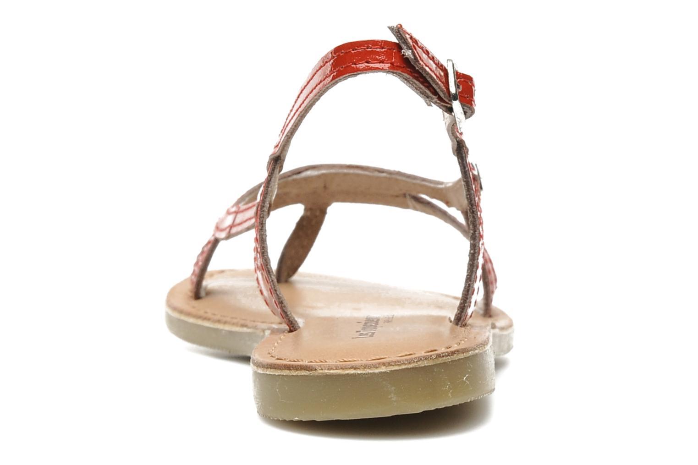 Sandalen Les Tropéziennes par M Belarbi ISATIS E rot ansicht von rechts