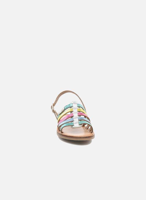 Sandalen Les Tropéziennes par M Belarbi LILOU mehrfarbig schuhe getragen