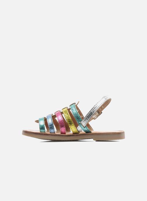 Sandalias Les Tropéziennes par M Belarbi LILOU Multicolor vista de frente