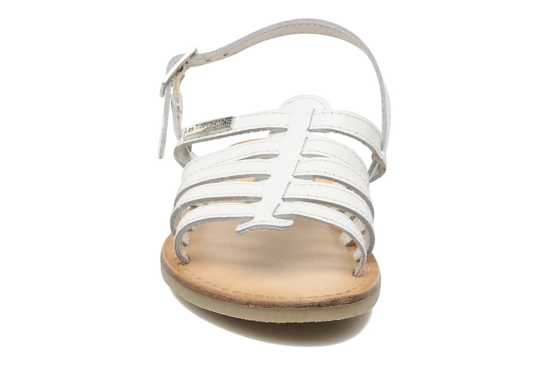Sandalen Les Tropéziennes par M Belarbi LILOU weiß schuhe getragen