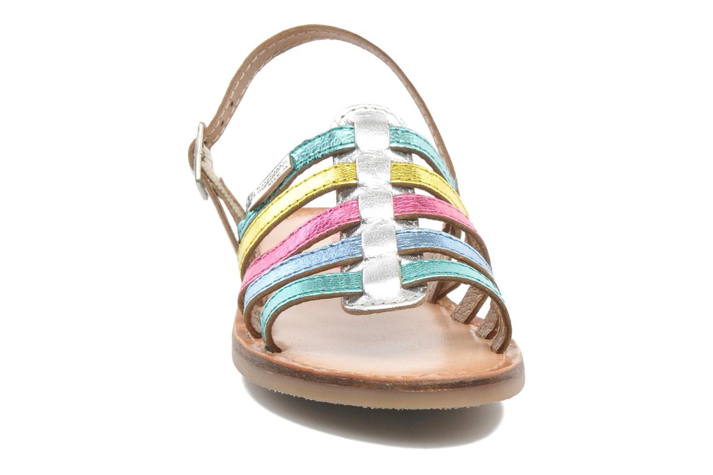 Sandales et nu-pieds Les Tropéziennes par M Belarbi LILOU Multicolore vue portées chaussures