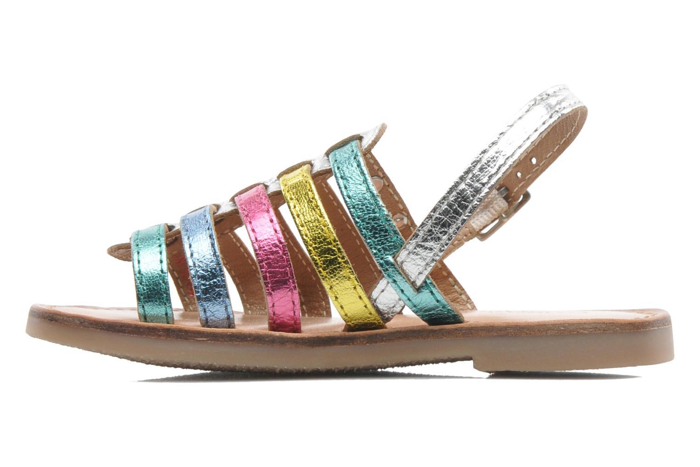 Sandales et nu-pieds Les Tropéziennes par M Belarbi LILOU Multicolore vue face