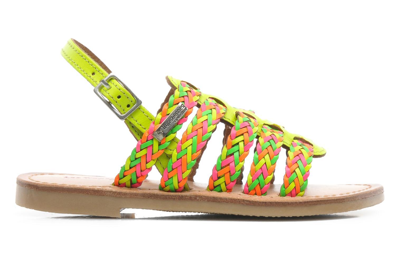 Sandales et nu-pieds Les Tropéziennes par M Belarbi LILOU Multicolore vue derrière