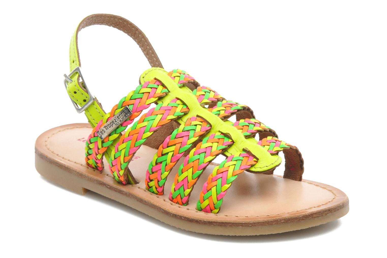 Sandales et nu-pieds Les Tropéziennes par M Belarbi LILOU Multicolore vue détail/paire