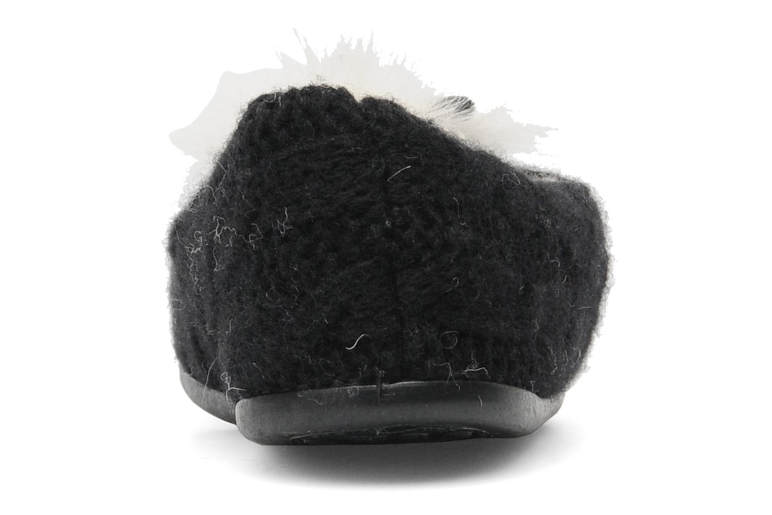 Slippers Rondinaud Tarsac Black view from the right