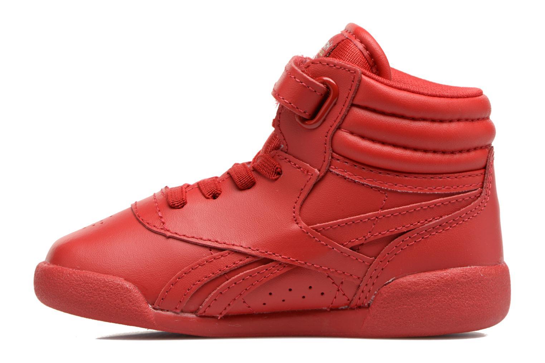 Baskets Reebok F/S Hi-E Rouge vue face