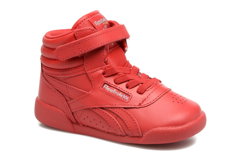 Baskets Reebok F/S Hi-E Rouge vue détail/paire