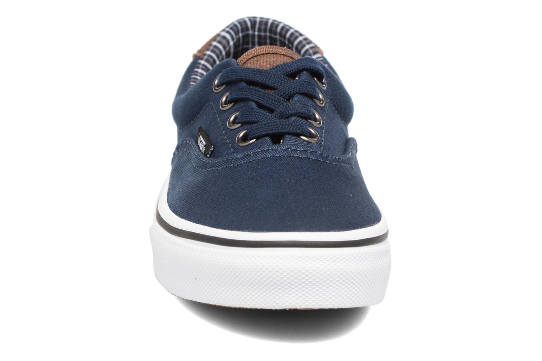 Baskets Vans Era 59 e Bleu vue portées chaussures