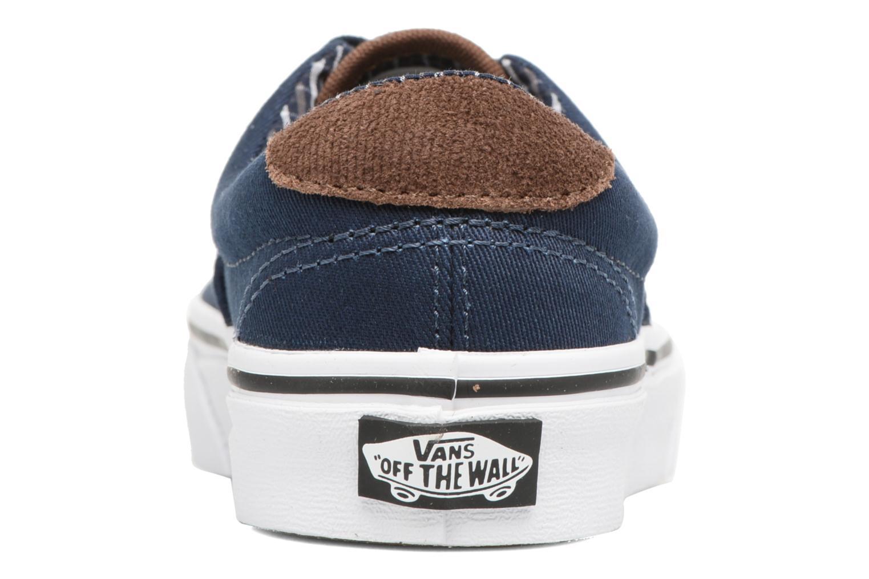 Baskets Vans Era 59 e Bleu vue droite