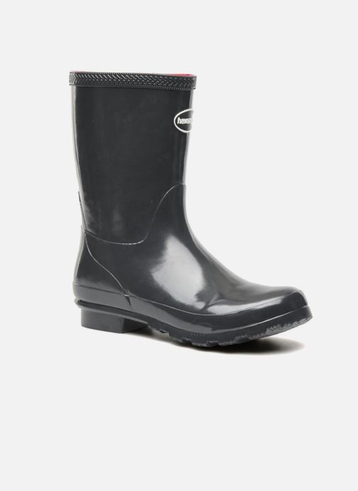 Ankle boots Havaianas Helios Mid Rain Boots Grey detailed view/ Pair view