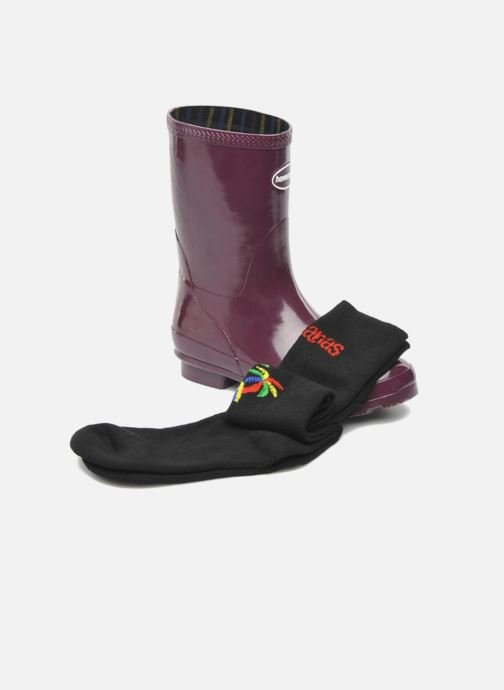 Ankle boots Havaianas Helios Mid Rain Boots Purple 3/4 view