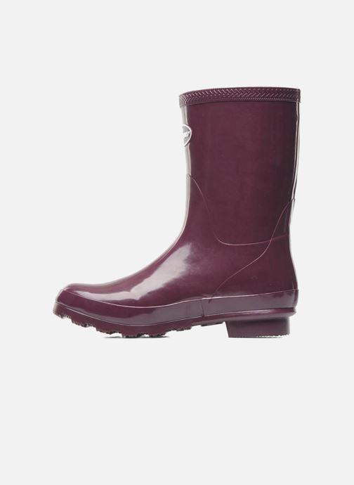 Boots en enkellaarsjes Havaianas Helios Mid Rain Boots Paars voorkant