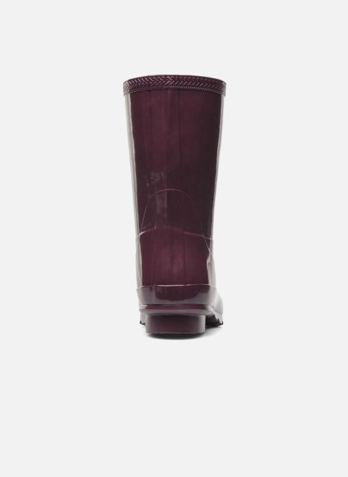 Ankle boots Havaianas Helios Mid Rain Boots Purple view from the right