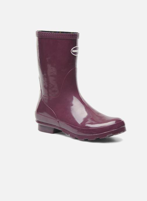 Boots en enkellaarsjes Havaianas Helios Mid Rain Boots Paars detail