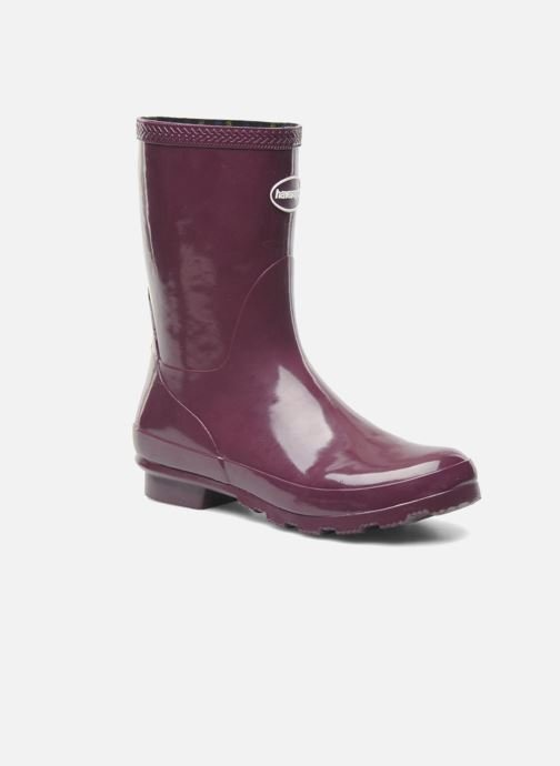 Bottines et boots Havaianas Helios Mid Rain Boots Violet vue détail/paire