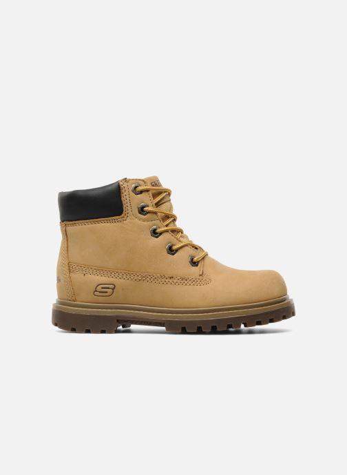 Boots en enkellaarsjes Skechers Mecca Lumberjack Geel achterkant