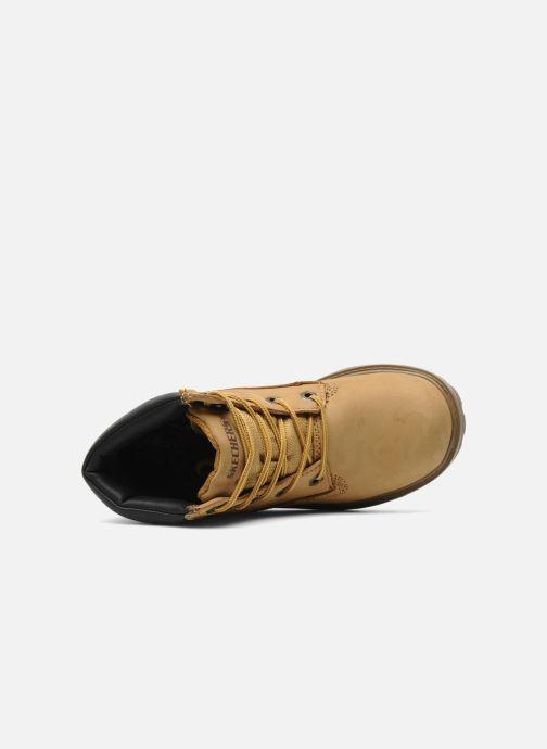 Bottines et boots Skechers Mecca Lumberjack Jaune vue gauche
