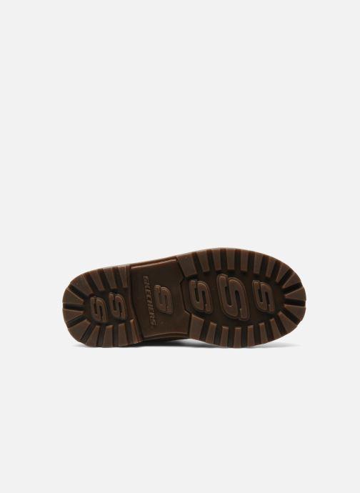 Bottines et boots Skechers Mecca Lumberjack Jaune vue haut
