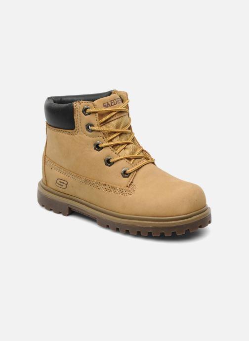 Bottines et boots Skechers Mecca Lumberjack Jaune vue détail/paire