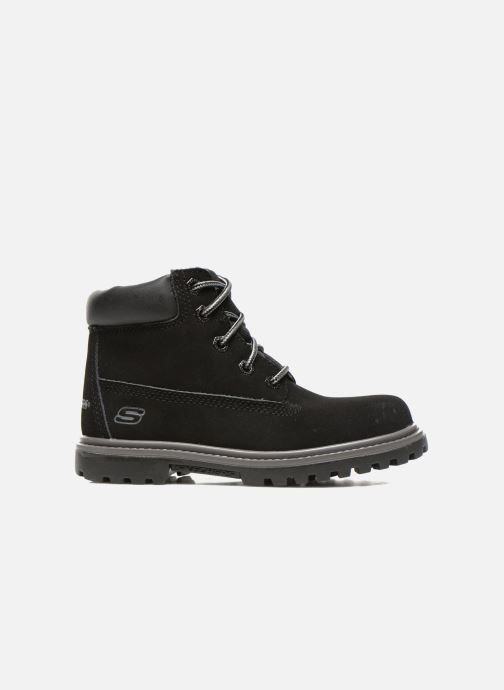 Ankle boots Skechers Mecca Lumberjack Black back view