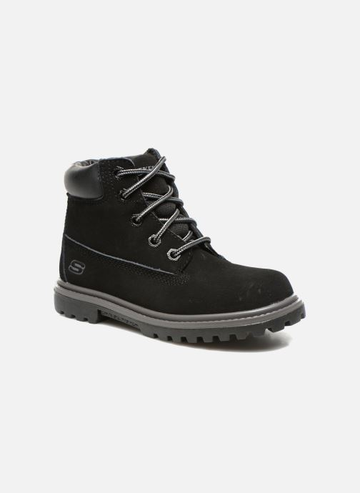 Ankle boots Skechers Mecca Lumberjack Black detailed view/ Pair view