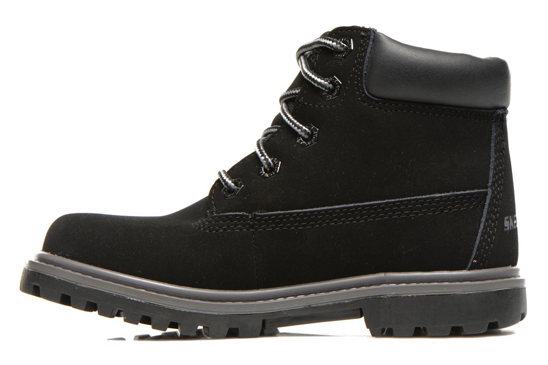 Stiefeletten & Boots Skechers Mecca Lumberjack schwarz ansicht von vorne