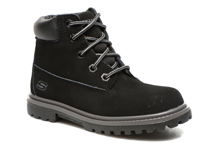 Ankelstøvler Skechers Mecca Lumberjack Sort detaljeret billede af skoene