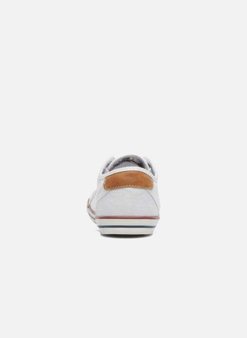 Baskets Mustang shoes Pitaya Blanc vue droite