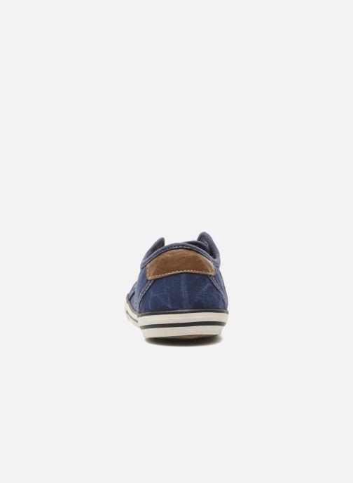 Sneaker Mustang shoes Pitaya blau ansicht von rechts