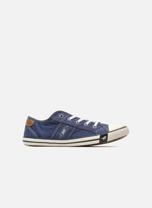 Sneaker Mustang shoes Pitaya blau ansicht von hinten