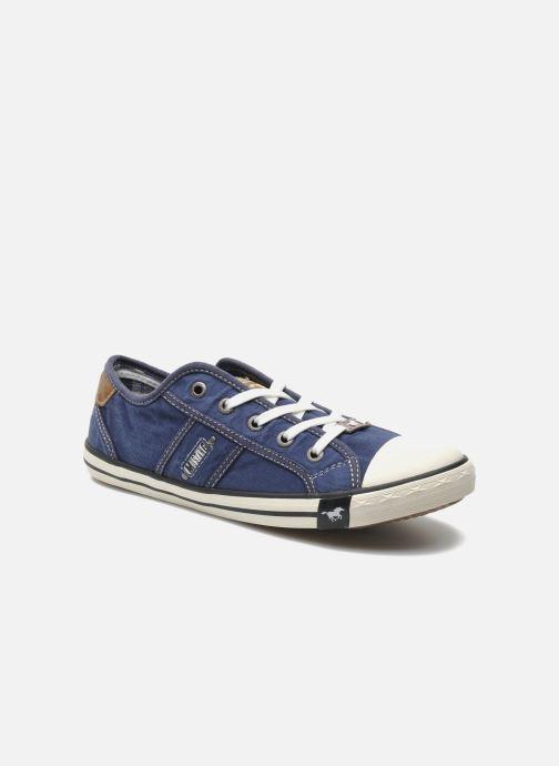 Mustang shoes Pitaya (Bleu) - Baskets chez Sarenza (222204) 93dab067c386