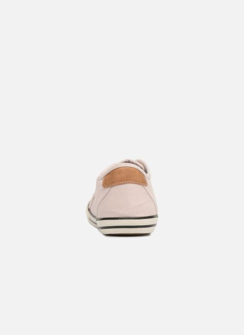 Sneaker Mustang shoes Pitaya rosa ansicht von rechts