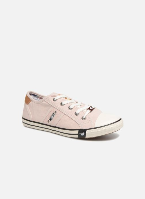 Baskets Mustang shoes Pitaya Rose vue détail/paire