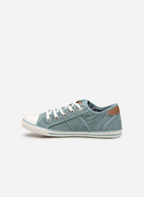 Sneakers Mustang shoes Pitaya Blauw voorkant