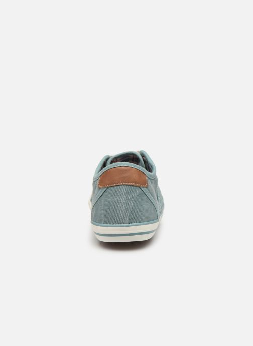 Sneakers Mustang shoes Pitaya Blauw rechts