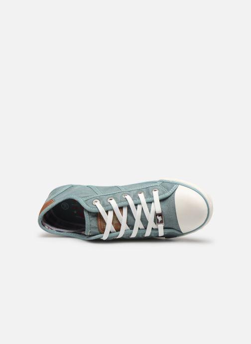 Sneakers Mustang shoes Pitaya Blauw links