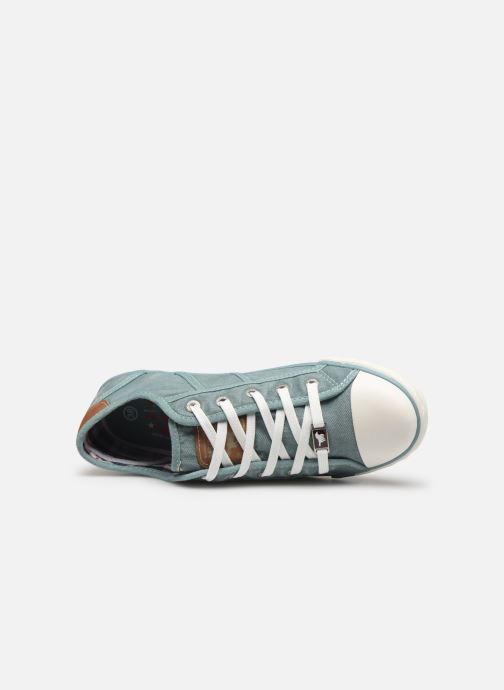 Sneakers Mustang shoes Pitaya Blauw links